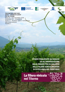 La Filera vinicola nel Titerno