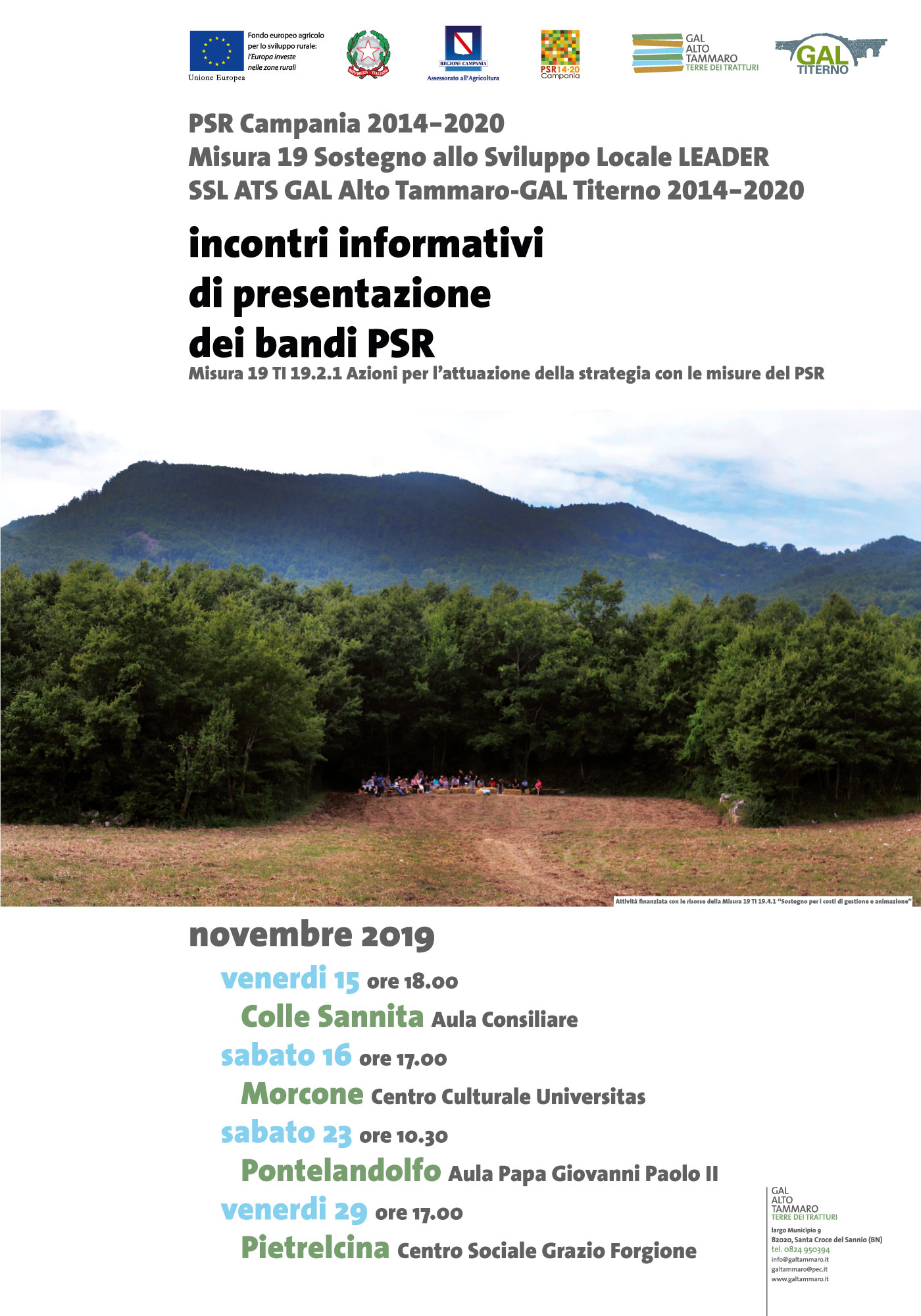 manifesto Gal Alto Tammaro